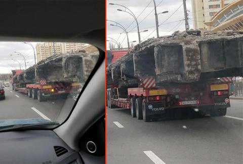 Шулявський міст у Києві вивозять по шматках