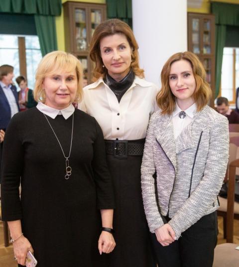Марина Порошенко вручила «Янгола добра» в рамках Національного конкурсу «Благодійна Україна-2018»