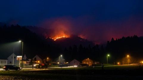 Сотні людей евакуювали у Норвегії через лісові пожежі