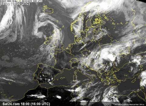 На Україну суне циклон Valentin – синоптик