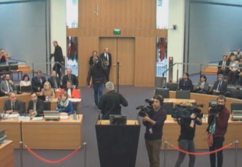 На трибунал ООН щодо полонених моряків приїхали віце-адмірал та адвокат українців у Росії