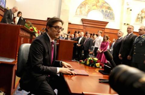 У Північній Македонії відбулася інавгурація нового президента