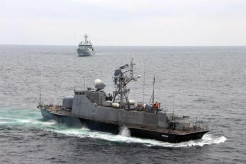 Україна і Великобританія провели військові тренування у Чорному морі