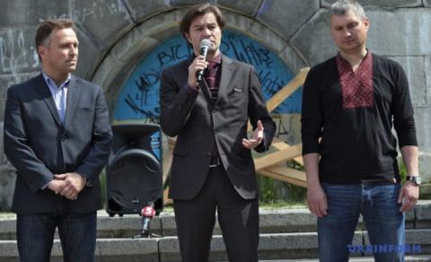 У Києві почали будівництво Національного меморіалу Героїв Небесної сотні