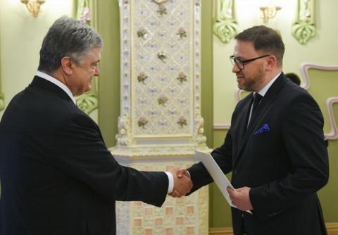 Порошенко прийняв вірчі грамоти у нового посла Польщі