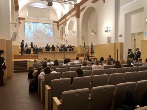 Суд над українським бійцем в Італії: захищати побратима приїхали військові