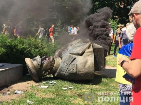 Через знесення пам'ятника Жукову в Харкові відкрили два провадження