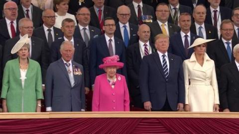 Світові лідери почали відзначати 75-річчя висадки військ у Нормандії