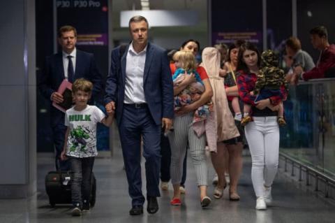 Діти, матір яких арештували в Грузії, повернулися в Україну