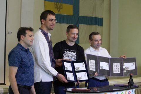 Укрпошта презентувала серію марок «Збройні формації Української революції 1917-1921 рр.»