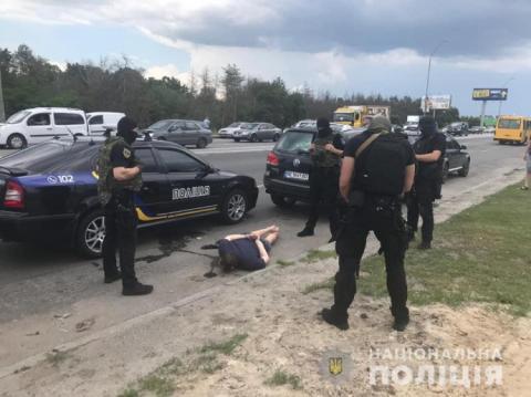 Поліція затримала групу автовикрадачів