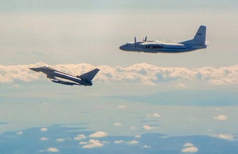 Британські винищувачі перехопили біля Естонії два літаки РФ