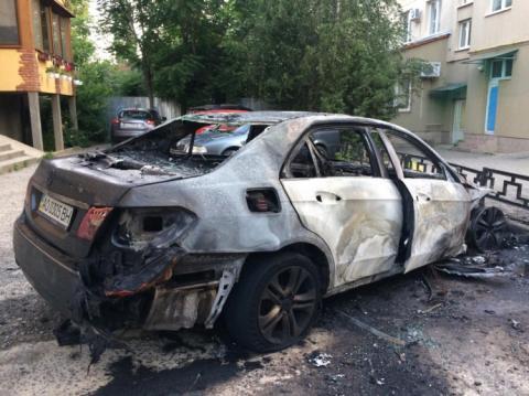 Спалили авто колишнього віце-мера Ужгорода