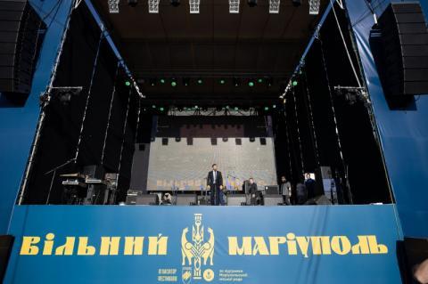 Дякую, що зберегли Маріуполь, – Президент привітав мешканців з п'ятою річницею звільнення міста
