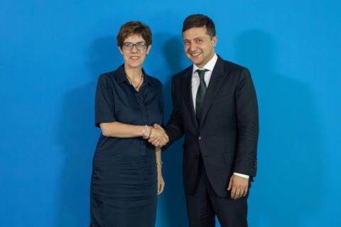 Президент України зустрівся з керівництвом німецьких партій ХДС і «Союз 90/Зелені»