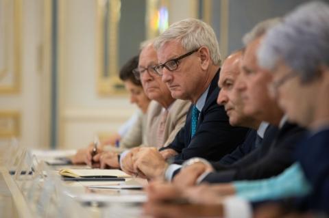 Президент України Володимир Зеленський зустрівся з членами наглядової ради «Ялтинської європейської стратегії»