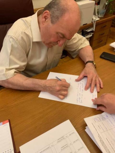 Ректор приїхав в КНУ, підписав наказ: Портнова в університеті не буде