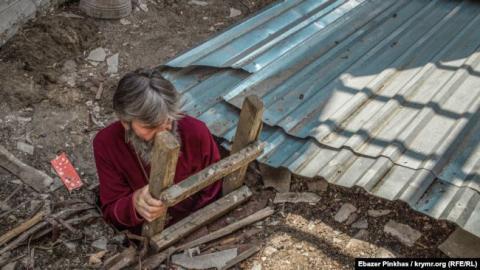 У храмі ПЦУ в анексованому Криму окупанти розібрали дах