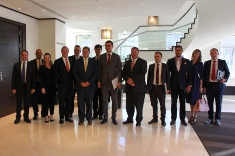 Володимир Омелян провів зустріч із американськими посадовцями