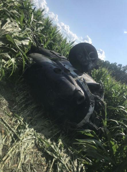 Вертоліт МІ-2 розбився на Сумщині, пілот загинув