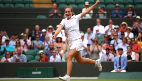 Дарина Снігур виграла тенісний турнір Wimbledon-2019 серед юніорок