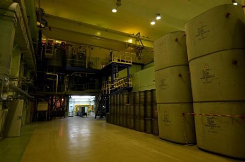 На ЧАЕС почали переробляти радіоактивні відходи