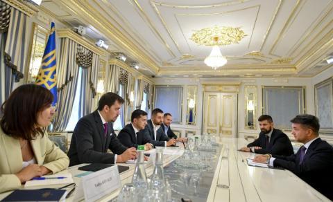 Глава держави провів зустріч з мексиканським інвестором Пітером Фойо
