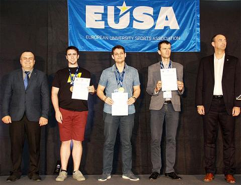 Українські шахісти здобули п'ять медалей на Євро-2019 серед університетів