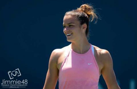 Еліна Світоліна зіграє сьогодні із Марією Саккарі у 1/4 фіналі тенісного турніру в Сан-Хосе