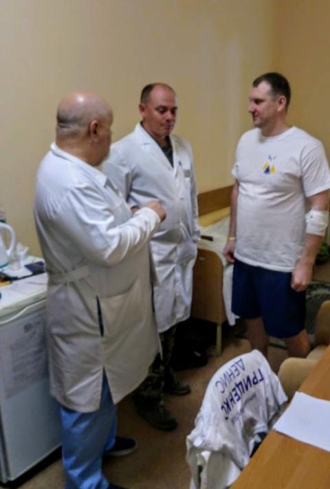 У військовому госпіталі розповіли про стан здоров'я моряків