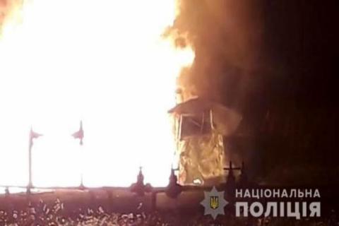 Крадіжка газу зі свердловини призвела до масштабної пожежі на Сумщині