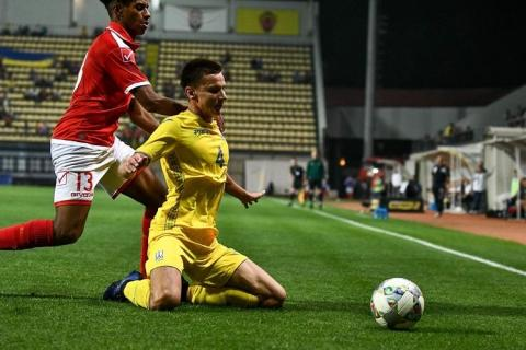 Молодіжна збірна України U-21 здобула першу перемогу у відбірному турнірі Євро-2021