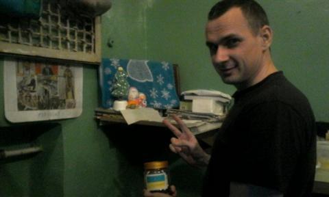 Сенцов показав єдине фото з російських буцегарень
