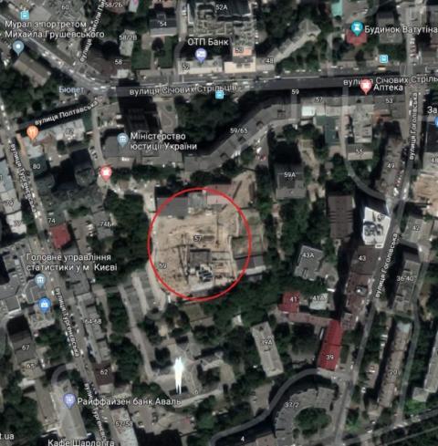 Скандальний суд дозволив зводити висотку в історичному ареалі Києва