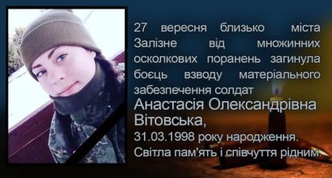На Донбасі через необережність з гранатою загинула молода військова