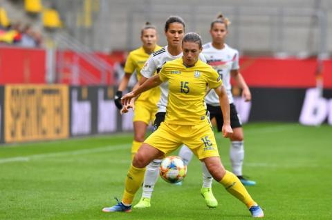 Жіноча футбольна збірна України програла німкеням й у другій грі відбору на Євро-2021