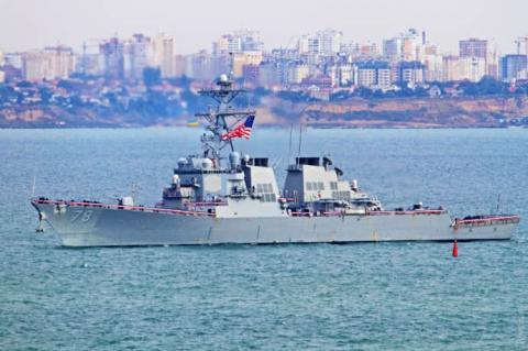 Американський есмінець увійшов в Чорне море