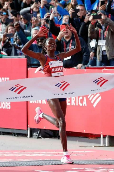 Кенійка побила світовий рекорд у марафоні