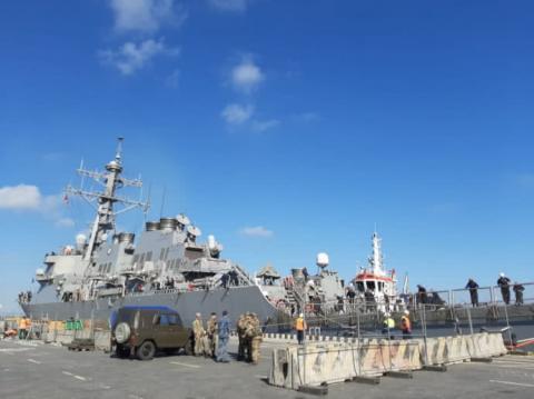 До Одеси прибув американський ракетний есмінець