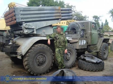 СБУ затримала бойовика, який обстрілював Луганський аеропорт
