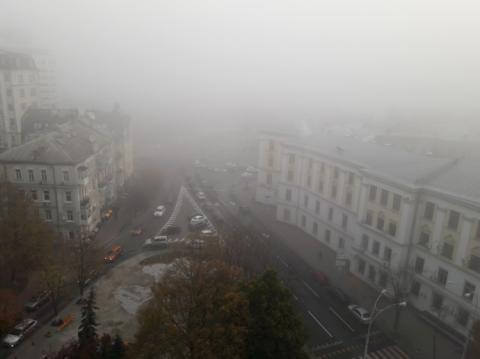 Тумани погіршують видимість в Україні