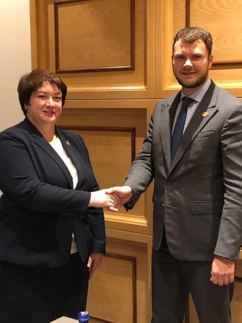 Міністр інфраструктури Владислав Криклій провів зустріч із Віце-прем'єр-міністром, міністром регіонального розвитку та інфраструктури Грузії Майєю Цкітішвілі