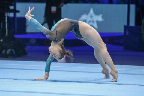 Верняєв і Варінська вибороли «срібло» Кубка Швейцарії з спортивної гімнастики