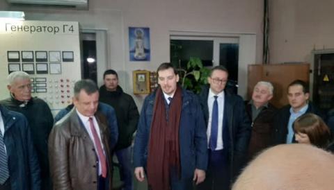 Опалювальний сезон: Гончарук спробував запустити Новояворівську ТЕЦ на Львівщині