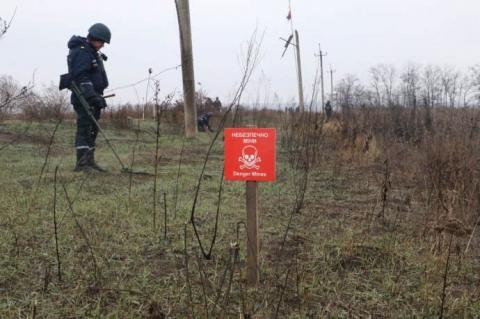 ДСНС показала, як розміновують Петрівське й Богданівку