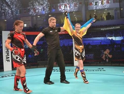 Українці вибороли титули чемпіонів світу з ММА