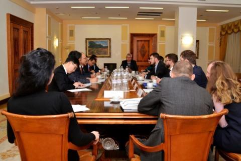 Владислав Криклій провів зустріч із представниками компанії Hyundai