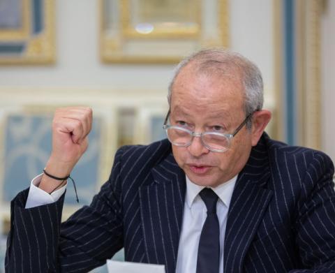 Володимир Зеленський зустрівся з виконавчим головою компанії Orascom Investment Holding