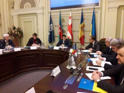 У Верховній Раді відкрилася 12-а сесія Парламентської асамблеї Організації за демократію та економічний розвиток - ГУАМ