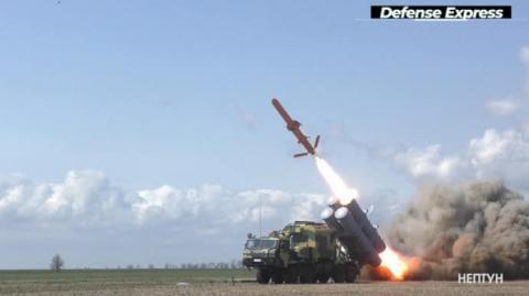 """Україна успішно випробувала крилату ракету """"Нептун"""" з радіусом до 280 км"""
